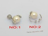 Spp605 Classic 925Silver Pendant with 10-11mm White Round Pearl