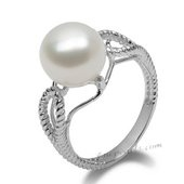Spr139 Classic Collection Large Freshwater Bread Pearl Ring