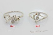srm013 sterling silver designer Ring Setting Mounting in wholesale,US size 7