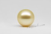 ssp11-12mm Nature  Golden color 11-12mm AA grade south sea loose pearl in wholesale