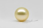 ssp12-13mm Nature  Golden color 12-13mm AA grade south sea loose pearl in wholesale