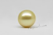 ssp14-15mm 14-15mm AA grade Nature Golden south sea loose pearl on sale