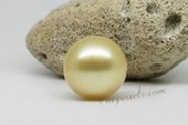 ssp15-16mm Luxury 15-16mm Nature  Golden south sea loose pearl,AA grade