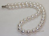 sspn002 17.5-inch 9.1-13.2mm white south sea pearl necklace