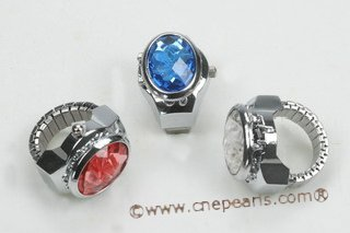 wr002 Fashionable design man made crystal ring watches