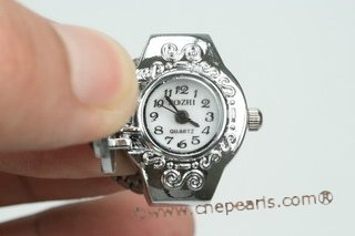 wr006 Fashionable design man made crystal ring watches