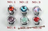 wr007 Fashionable design man made crystal ring watches
