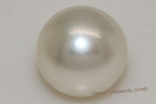 wssp15-15.5mm 15-15.5mm AA grade white color south sea loose pearl